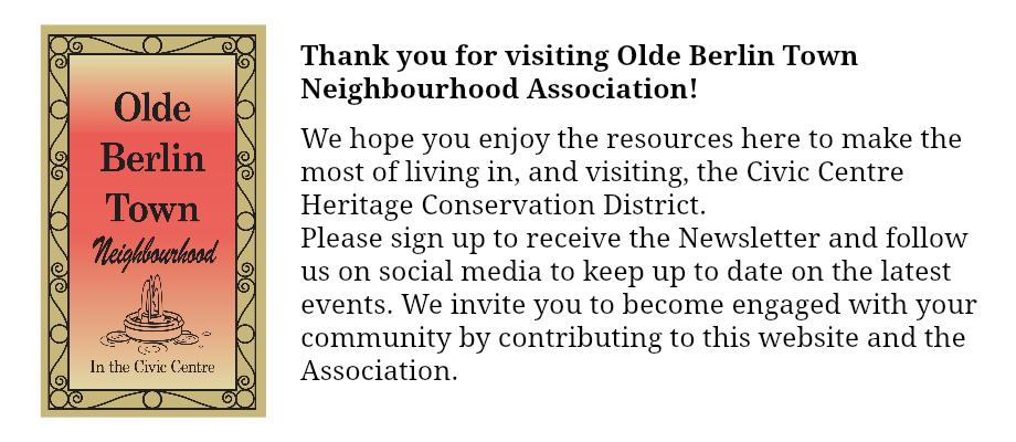 Olde Berlin Town Neighbourhood Association