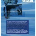 Shared Snow Blower Program poster