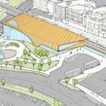 Artist rendering of proposed Kitchener Transit Hub