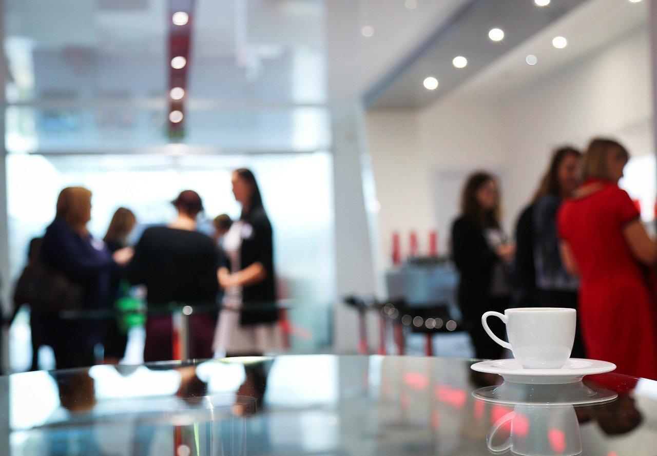 Meeting coffee break pic