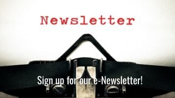 Photo of typewriter title of Newsletters page